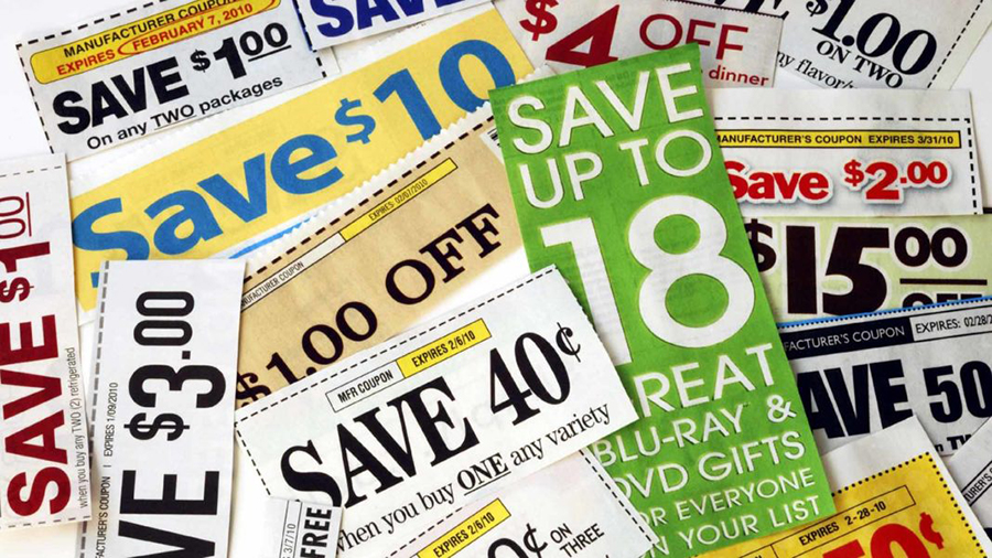 Coupons clipping websites