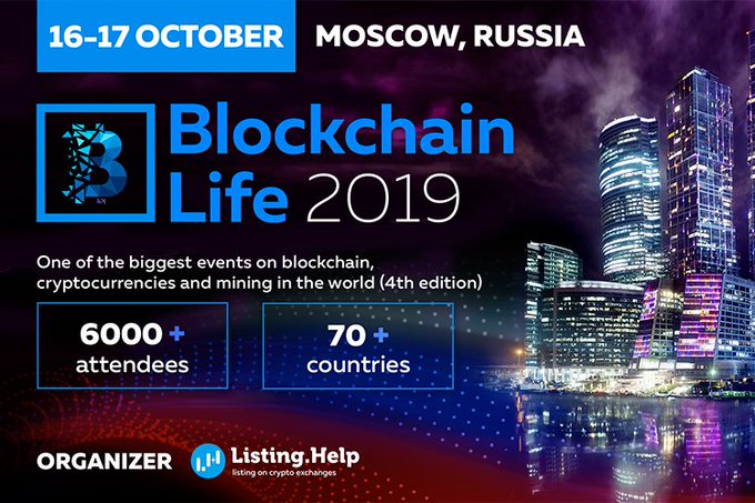 Blockchain Life Forum 2019: The Largest Cryptocurrencies Event 9