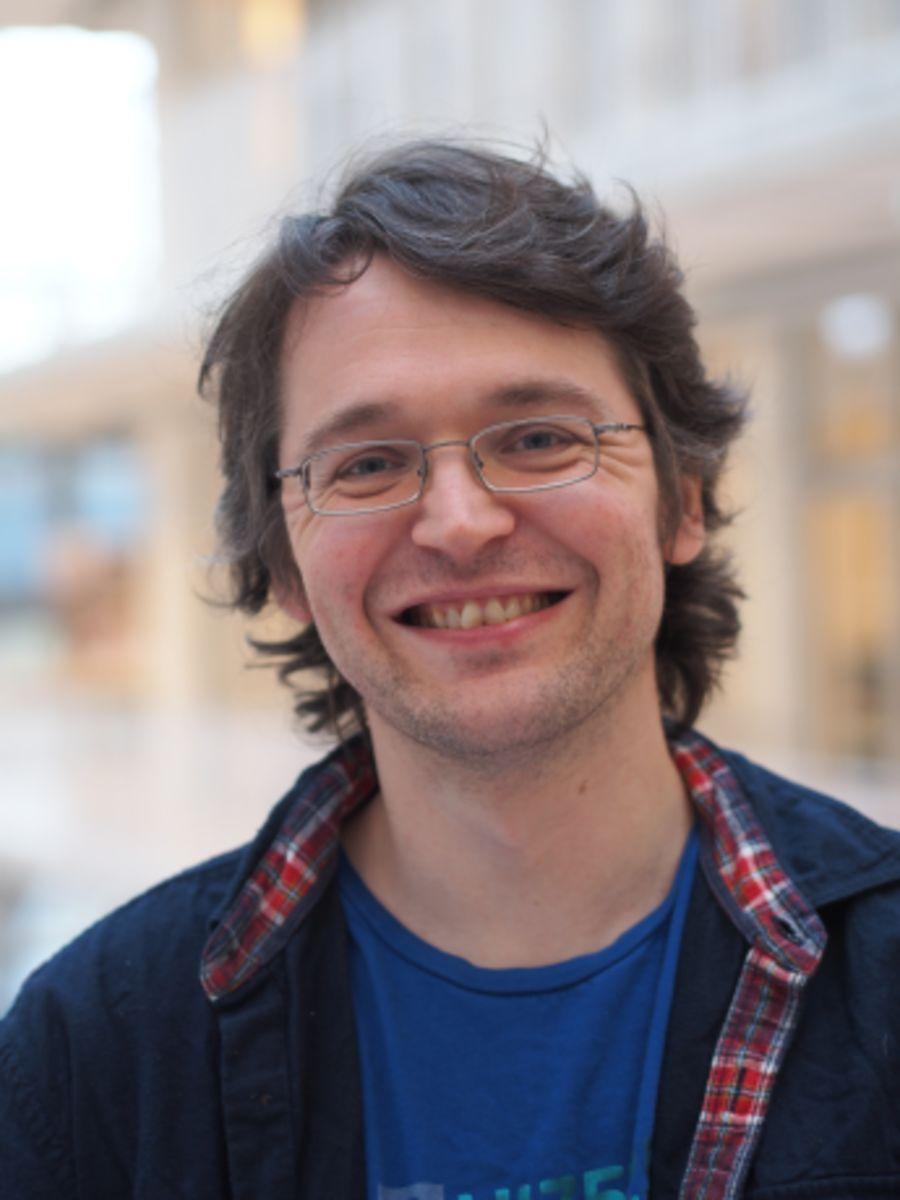 Forsker Ole Røgeberg ved Frischsenteret.