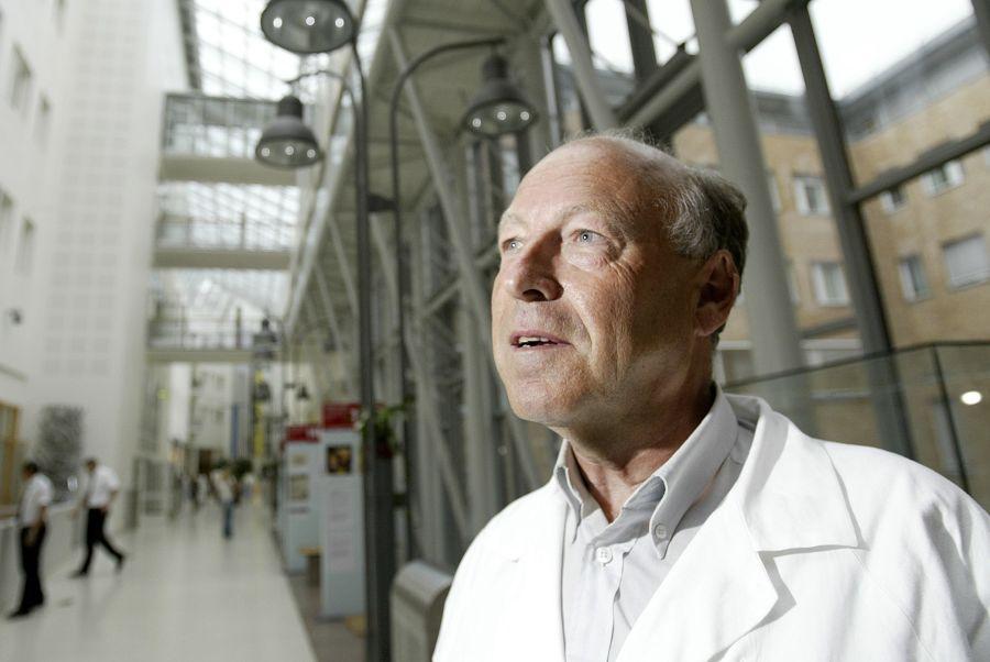 Lege og professor i medisin, Arvid Heiberg.