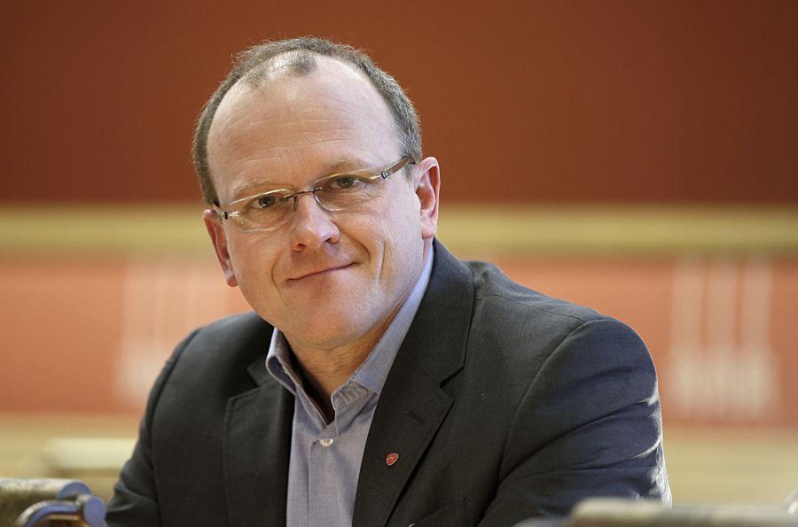 Frode Jacobsen, leder i Oslo Arbeidersamfunn.