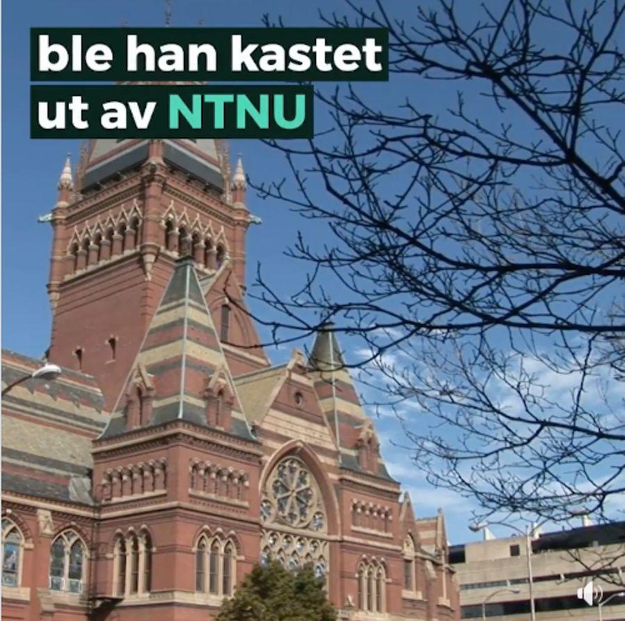 Dette er ikke NTNU, men Memorial Hall ved Harvard University.
