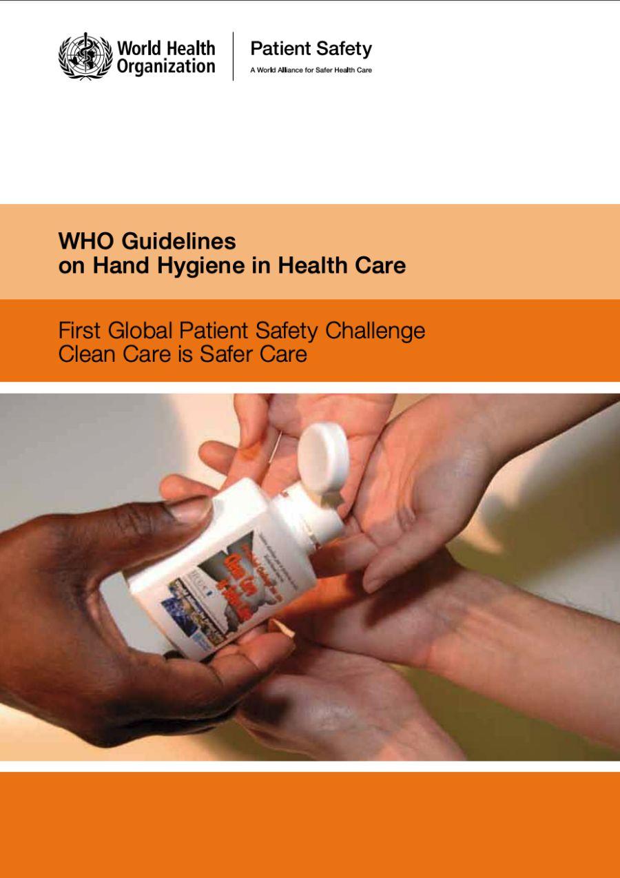 WHO anbefaler bruk av håndsprit som en del av hygienearbeidet i helsevesenet – også i muslimske land.
