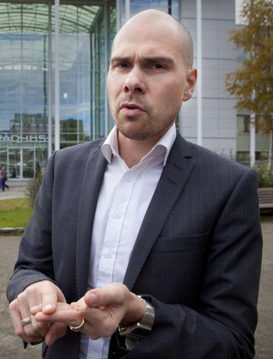 Anders Opdahl, konserndirektør i Amedia.