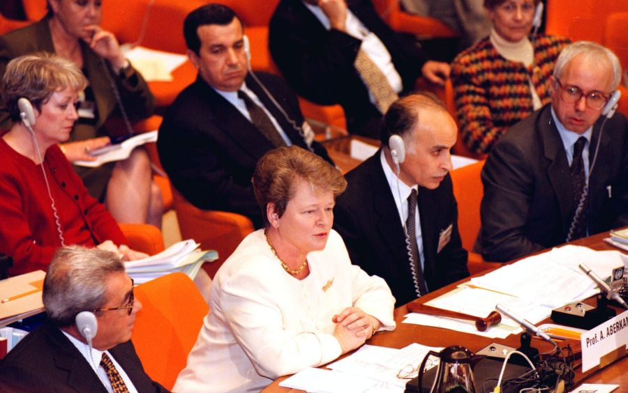 Gro Harlem Brundtland var generaldirektør i Verdens helseorganisasjon fra 1998 til 2003.