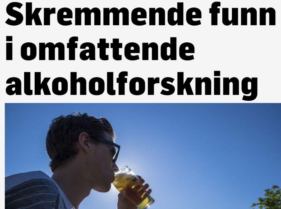 Skjermdump fra TV2.no