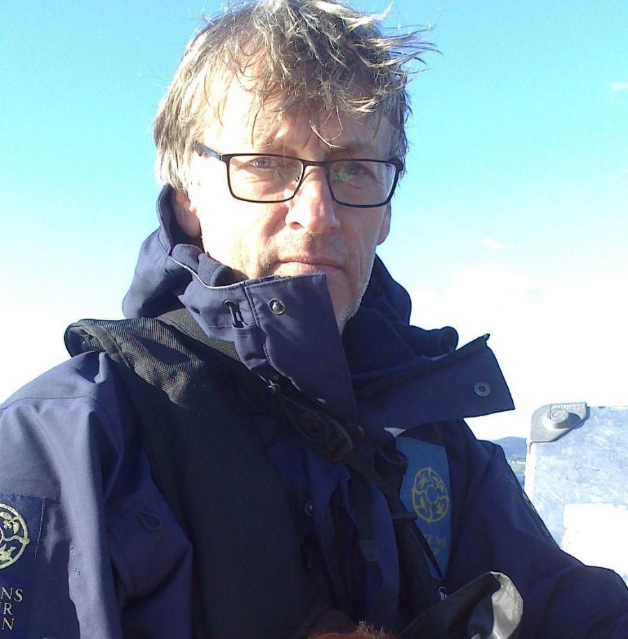Jan Huseklepp Wilberg i Statens naturoppsyn.