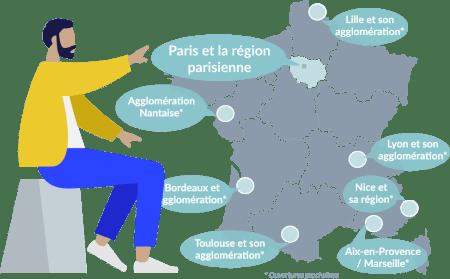 Familiv, chasseur d'appartements, accompagne les propriétaires ayant un projet d'achat revente à Paris et dans toute la région Parisenne.