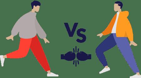 comment expliquer la différence d'honoraires entre les chasseurs classiques et les chasseurs d'appartements en ligne