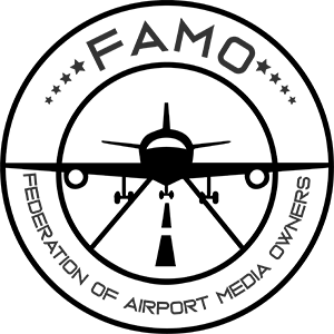 FAMO (Federation of Airport Media Owners) logo
