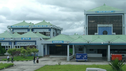 Image of Imphal airport