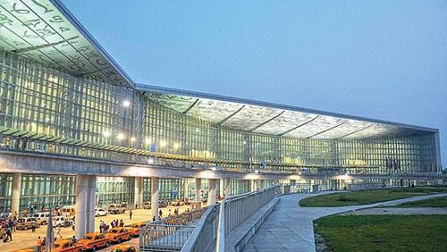 Image of Kolkata airport