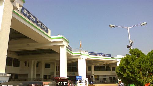 Image of Agartala airport