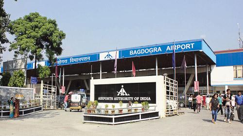 Image of Bagdogra airport