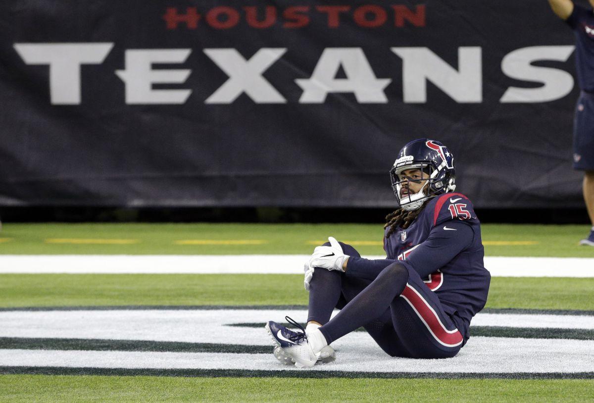 Texans Lose Wide Receiver