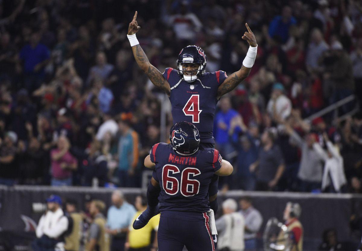 Watson Leads Texans