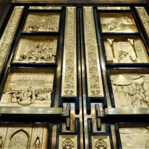 Preview image for Marian Doors St. Michael's Cathedral Basilica