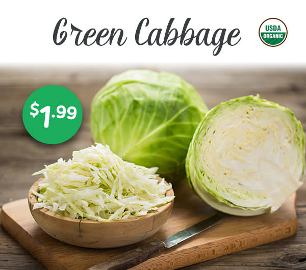 Cabbage $1.99