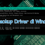 Cara Backup Driver di Windows 10 via CMD