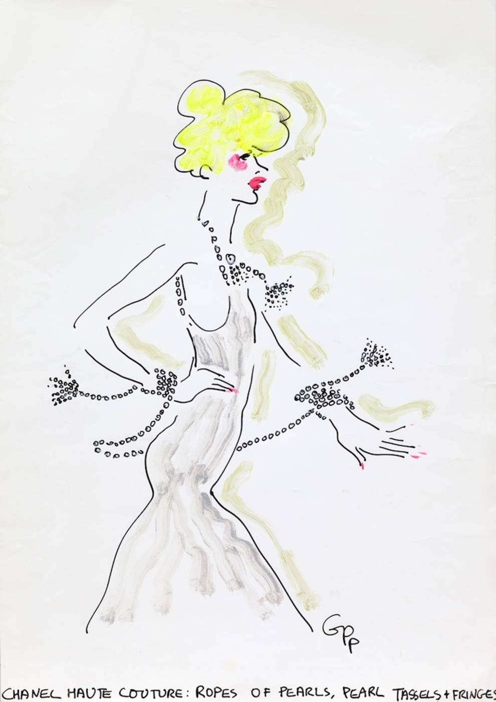 Chanel Haute Couture Blond