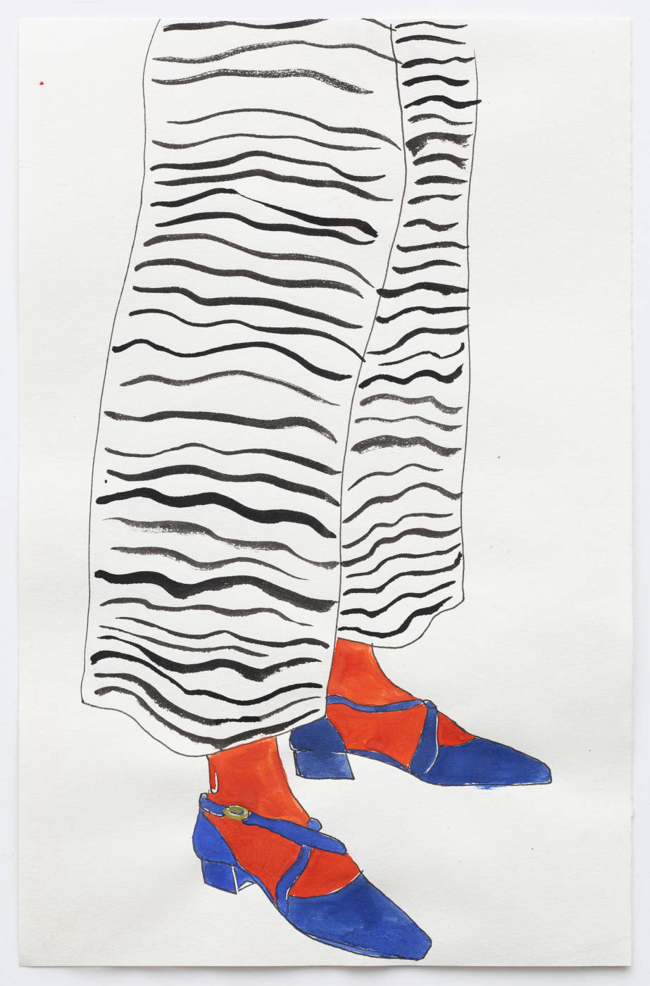 Blue Shoes II