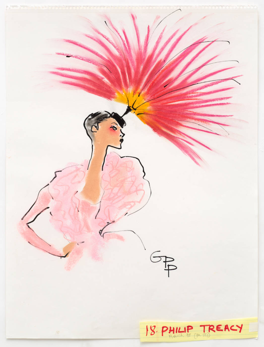 Philip Treacy for Sunday Times Style