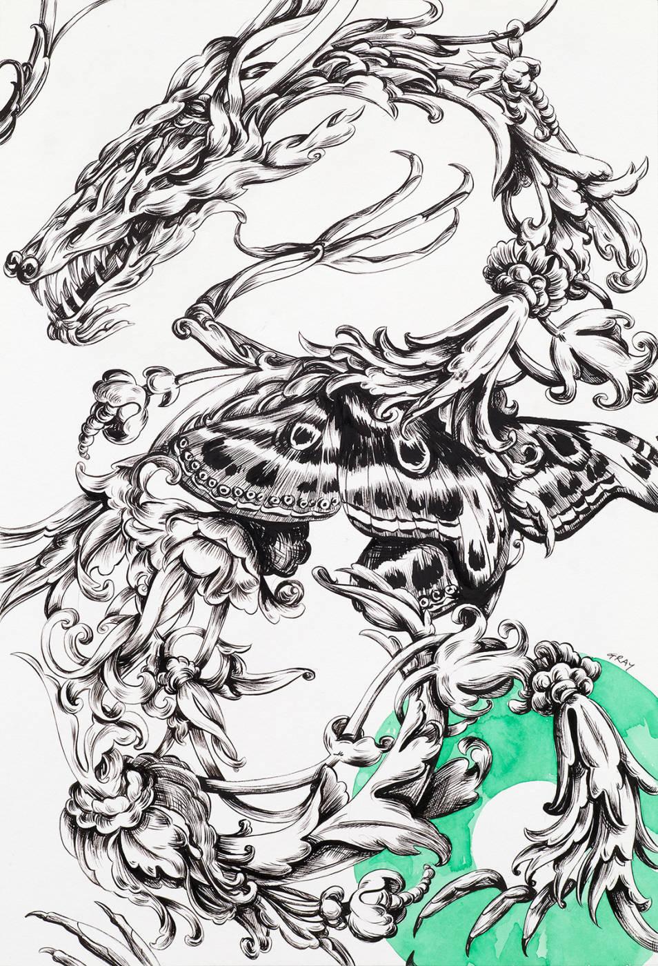 Florrid Dragon