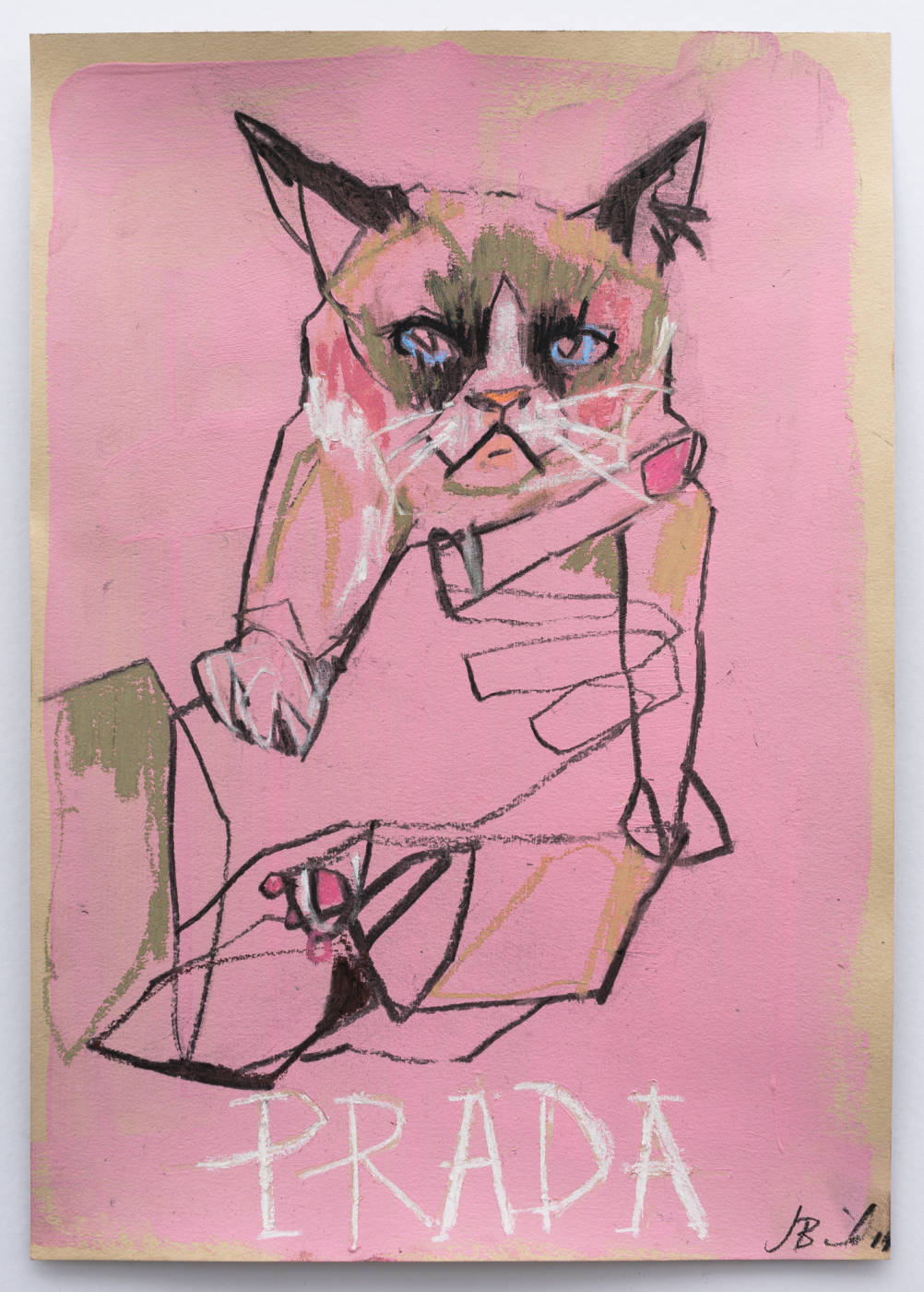 Grumpy Cat does Prada