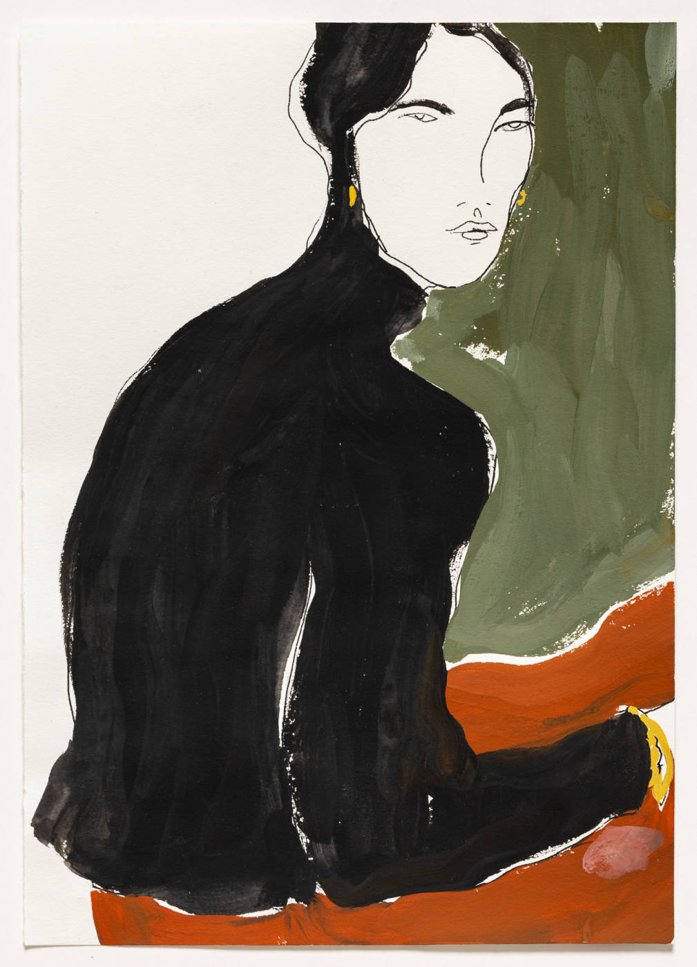 Untitled (woman sitting II)