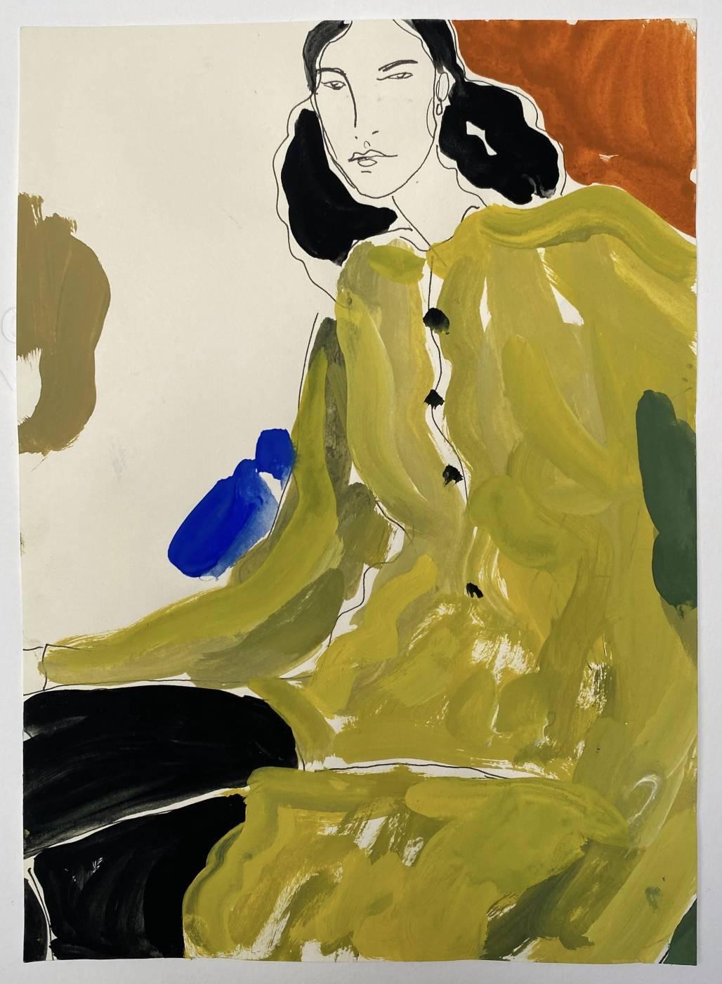 Untitled (women in yellow dress)
