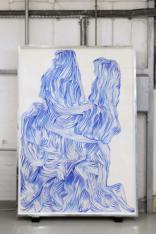Line Painting / Ultramarine 2 (02653)