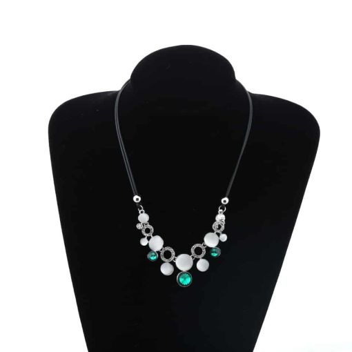 Precious Crystal Chain Pendants