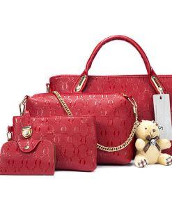Pretty Elegant Women Bag Set