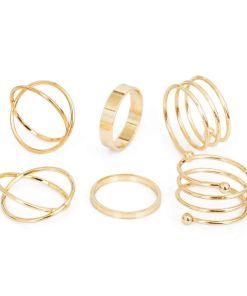 Glistening Gold Set Ring