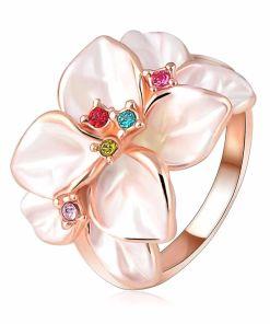 Ladies Rose Gold Ring