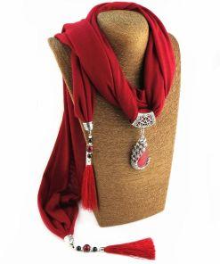 Silky Fringe Tassel Necklace