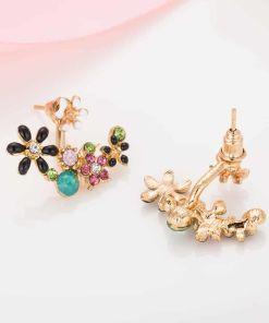 Angelic Daisy Flower Stud Earring