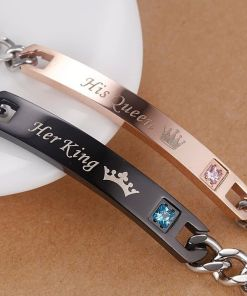 For Lovely Couples Royal Charm Bracelets