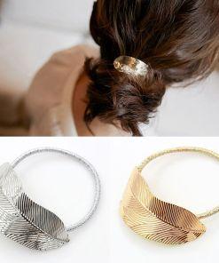 Fanciful Lady Leaf Hair Band