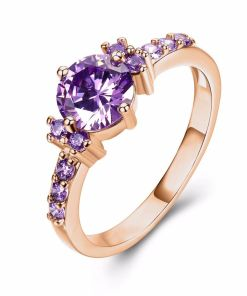 Classic Women Gold Color Rings
