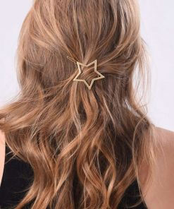 Star Heart Hair Pin