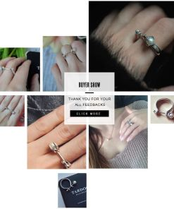 Enchanting Pear Shape Ring