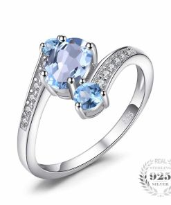 Stunning Sky Blue Ring