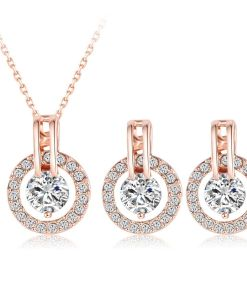 Calm Soul Bridal Jewelry Set