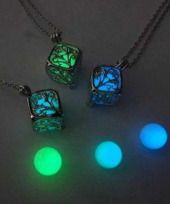 Nice Dark Luminous Necklaces