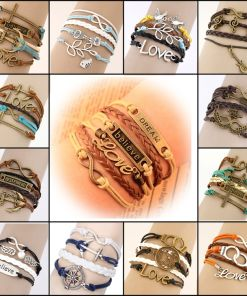 Adorable Multilayer Charm Bracelet