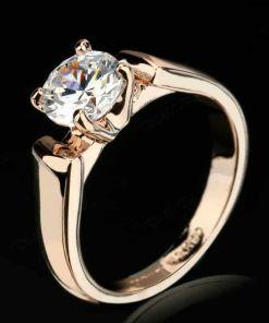 Luminous Orb Cut Ring