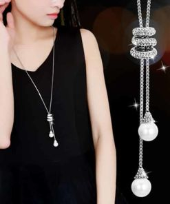 Glowing Ladies Spiral Chain Necklace