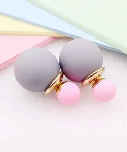 Multicolored Pearl Earrings