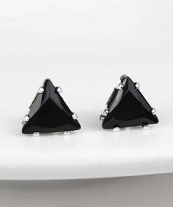 Charming Portable Crystal Triangular Earring
